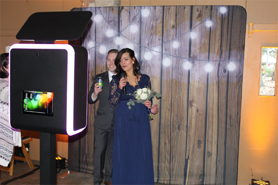 Black Tie Photo Booth Fun Pics