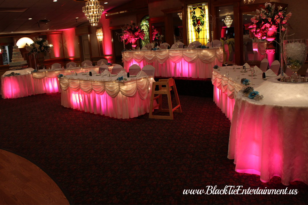 Guy's Party Center with Black Tie Entertainment